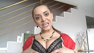 Playing hard with a French girl - liza del sierra