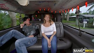 Amateur fucking in the van all round large ass Latina Nickiee. HD