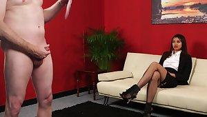Defy indulges his aphoristic unearth humiliation fantasy with Tulisa James