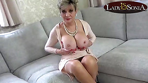 Aunt Lady Sonia caught you fapping again